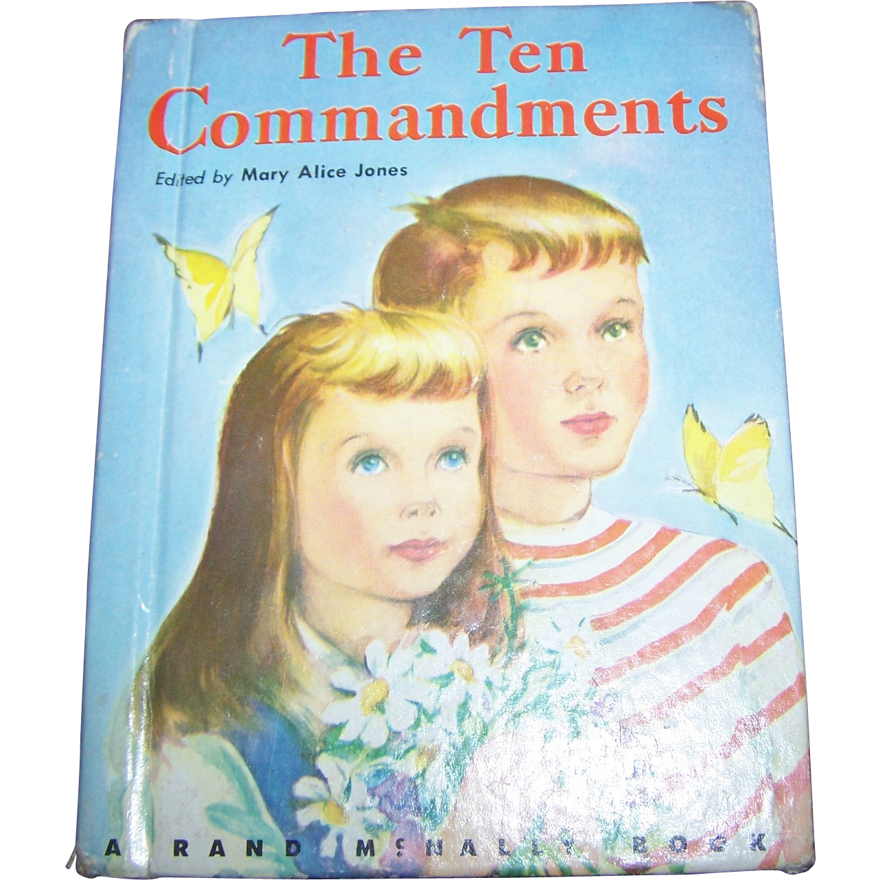"Charming Little Children's Book "" The Ten Commandments """