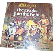 "Soft Cover Book Booklet "" The Ewoks Join the Fight "" Star Wars Return of the Jedi"