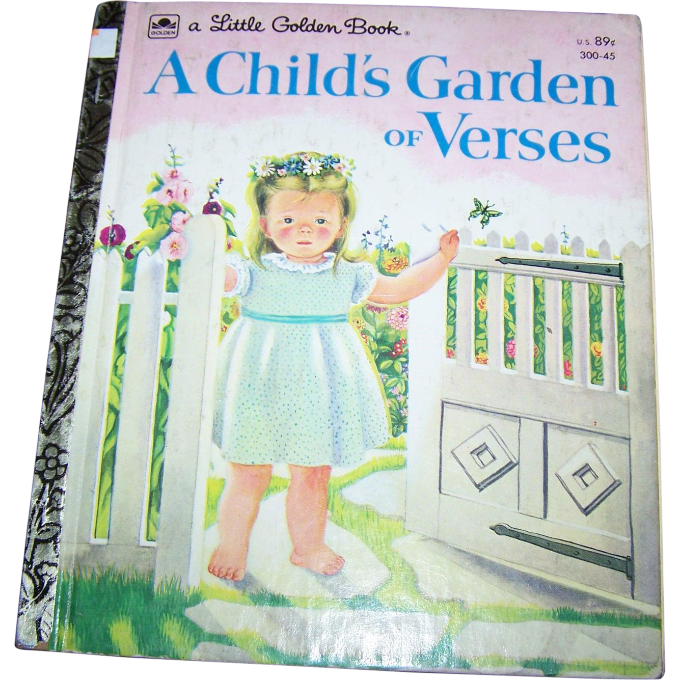 A Child 39 S Garden Of Verses A Little Golden Book By Robert Louis From Victoriasjems On Ruby Lane