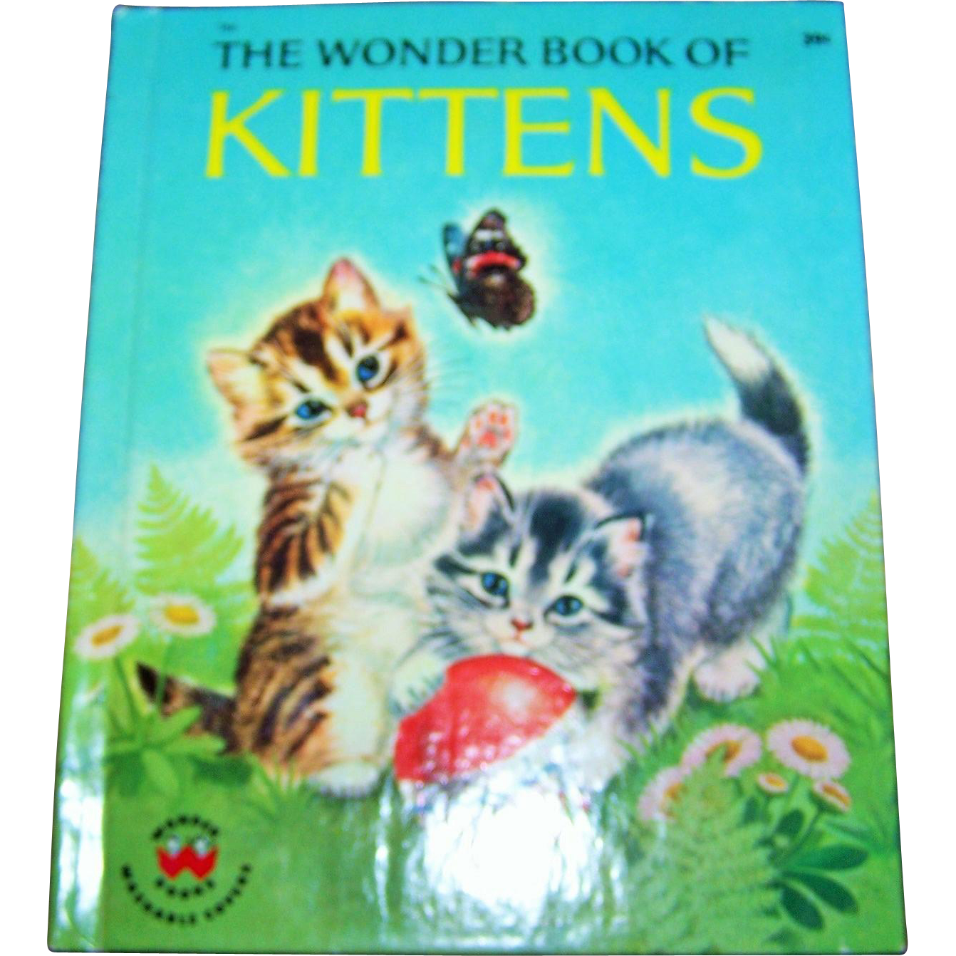 "A Charming Vintage Child's  Book "" The Wonder Book of Kittens """
