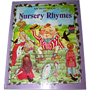 My Best Book of Nursery Rhymes  Over Sized Children' s Book
