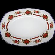 """A Vintage Royal Staffordshire Porcelain Platter """" BETSY """""""