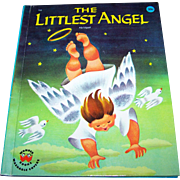 "Children's Vintage Book "" The Littlest Angel "" Wonder Book Circa 1960"