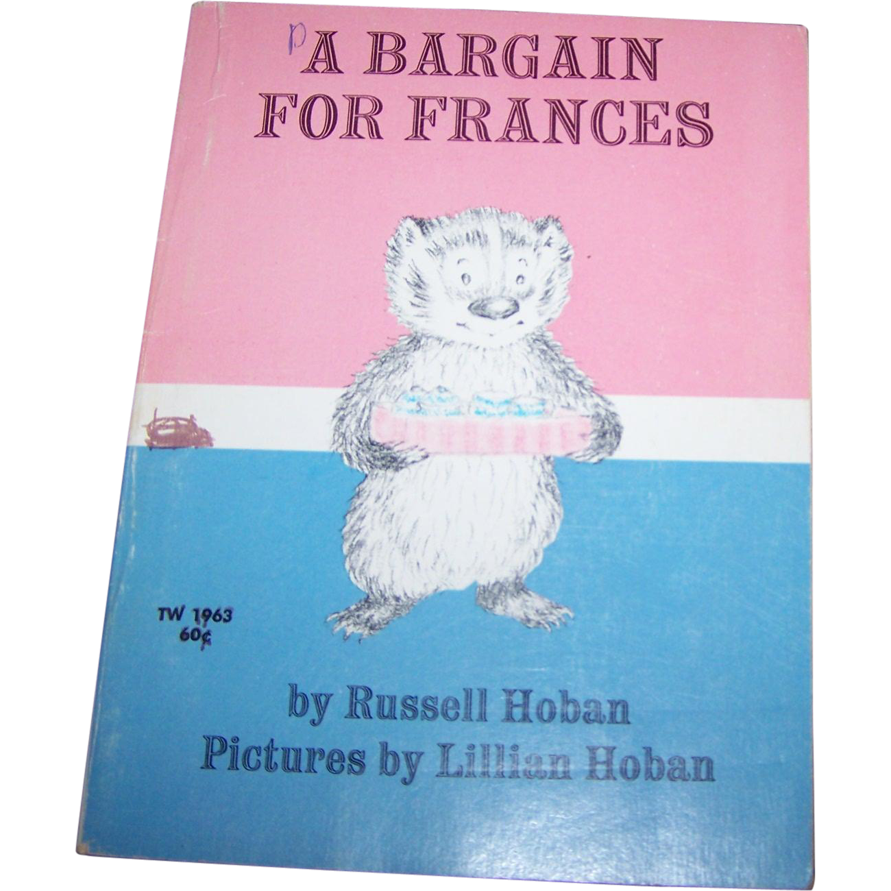"Soft Cover Book "" A Bargain For Frances "" By Russell Hoban"