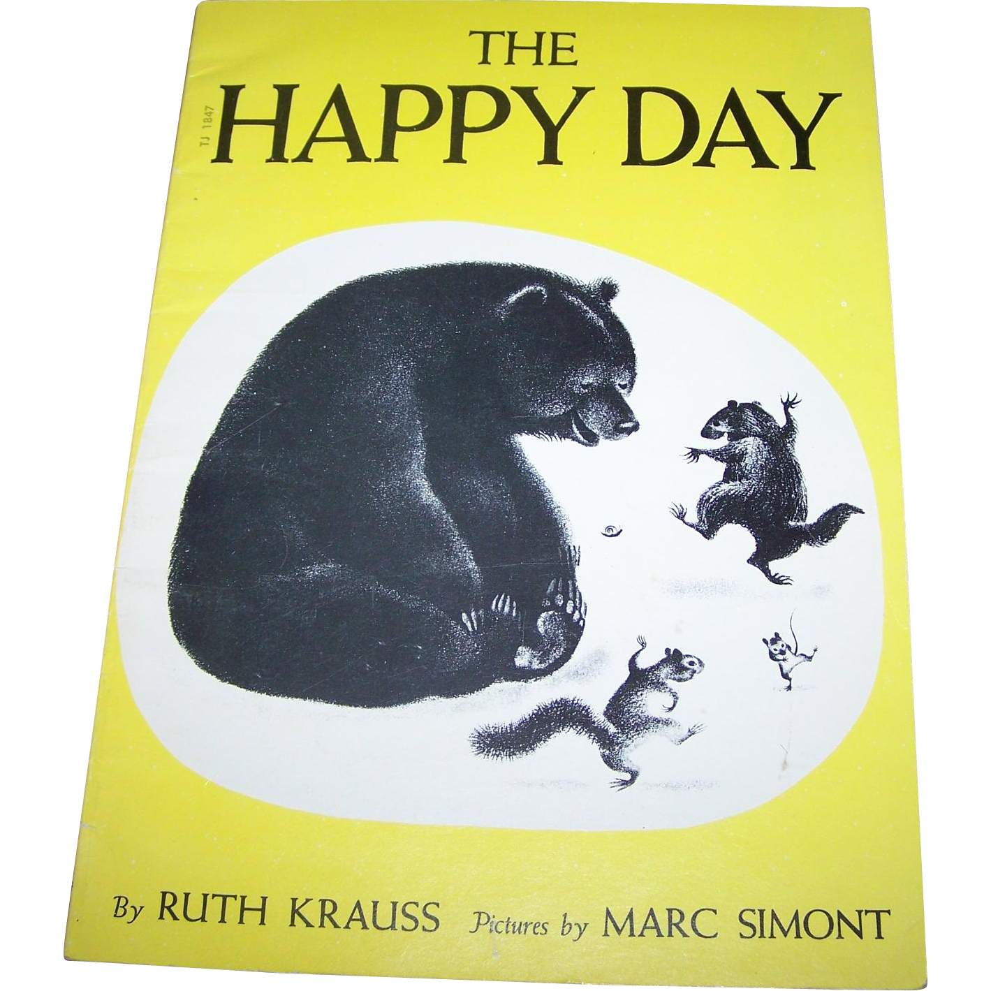 "Soft Cover Children' s  Book ""The Happy Day "" By Ruth Krauss"