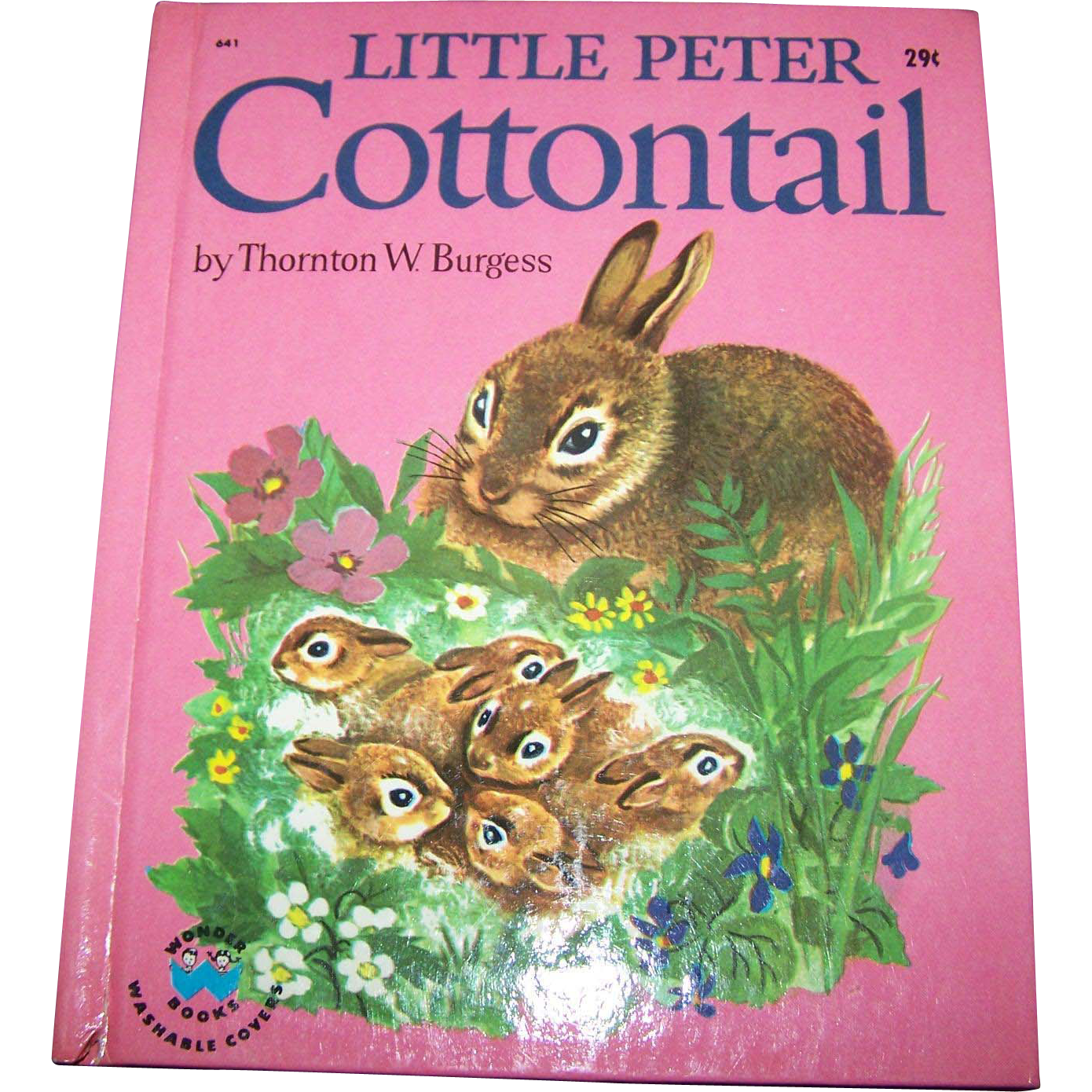 "Charming Children's Book "" Little Peter COTTONTAIL "" By Thornton W. Burgess"