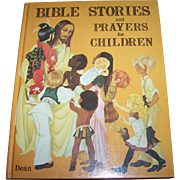 Bible Stories and Prayers for Children Dean & Son Ltd., 1978