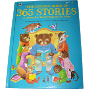 Oversized Children's Book The Golden Book of 365 Stories by Kathryn Jackson