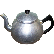"""Decorative Etched Swan Brand Teapot Tea Pot Kettle Made in England """" The Carlton """""""