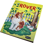 "Children's Tiny Paper Back Book "" ROVER ""Tiny Tales Whitman"