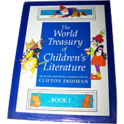 "Vintage Children's Book ""The World Treasury of Children's Literature "" Book One"