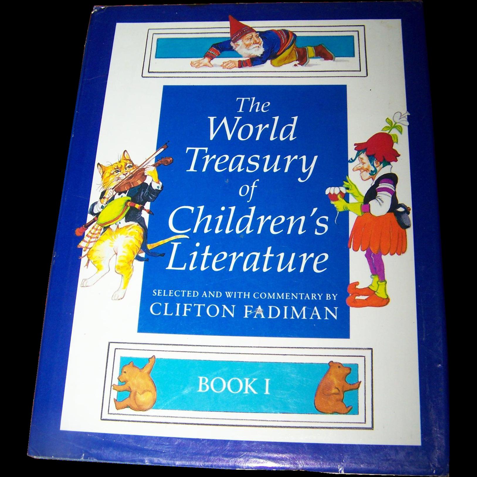 """Vintage Children's Book """"The World Treasury of Children's Literature """" Book One"""