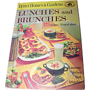 Better Homes & Gardens LUNCHES and BRUNCHES