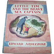 "Children's Book "" Little Tim And The Brave Sea Captain "" Edward Ardizzone"