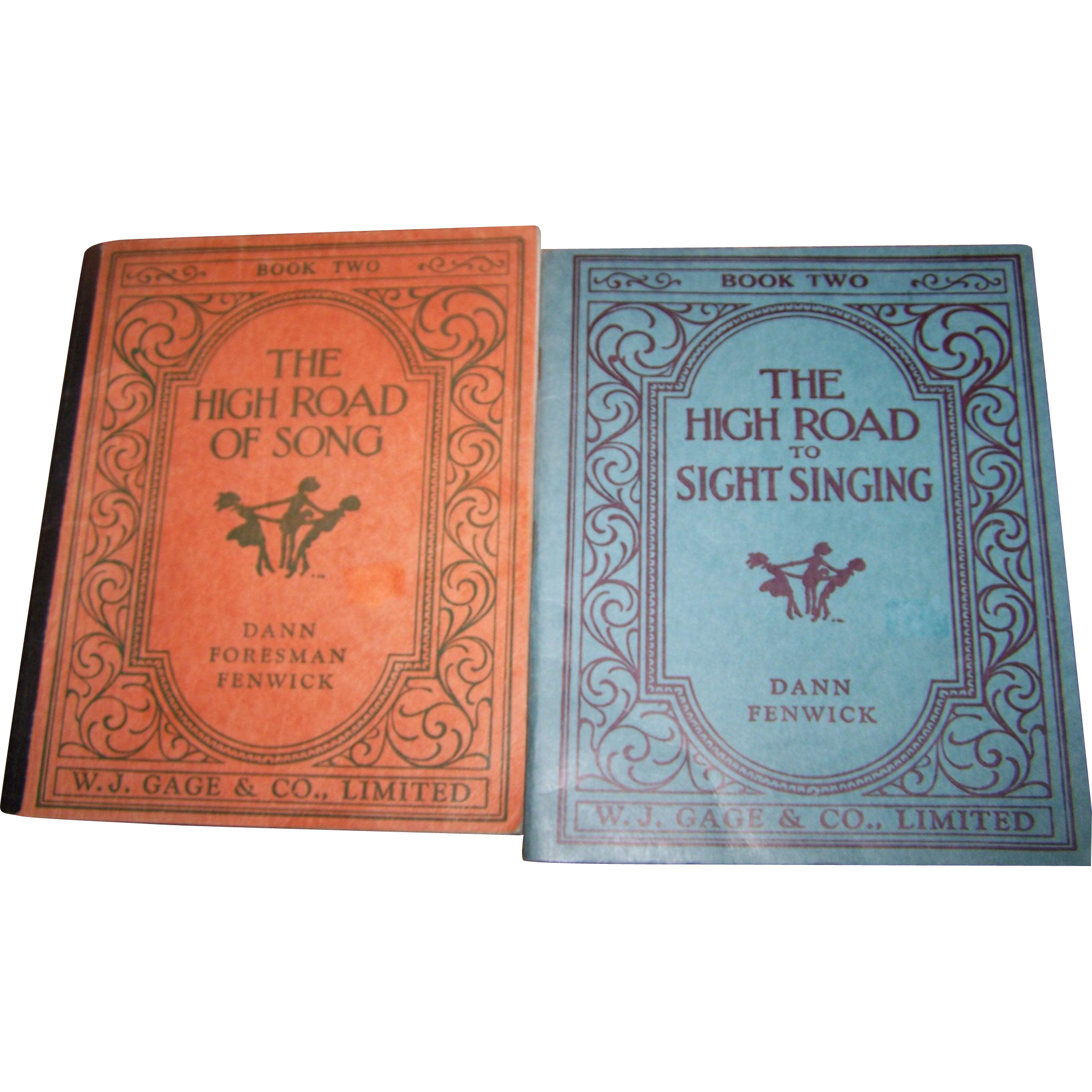 "Two Music Books "" Book Two The High Road Of Song  ""  and "" The High Road To Sight Singing """