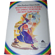 Children's Hard Cover Book 50 Five Minute Tales  Rainbow Library