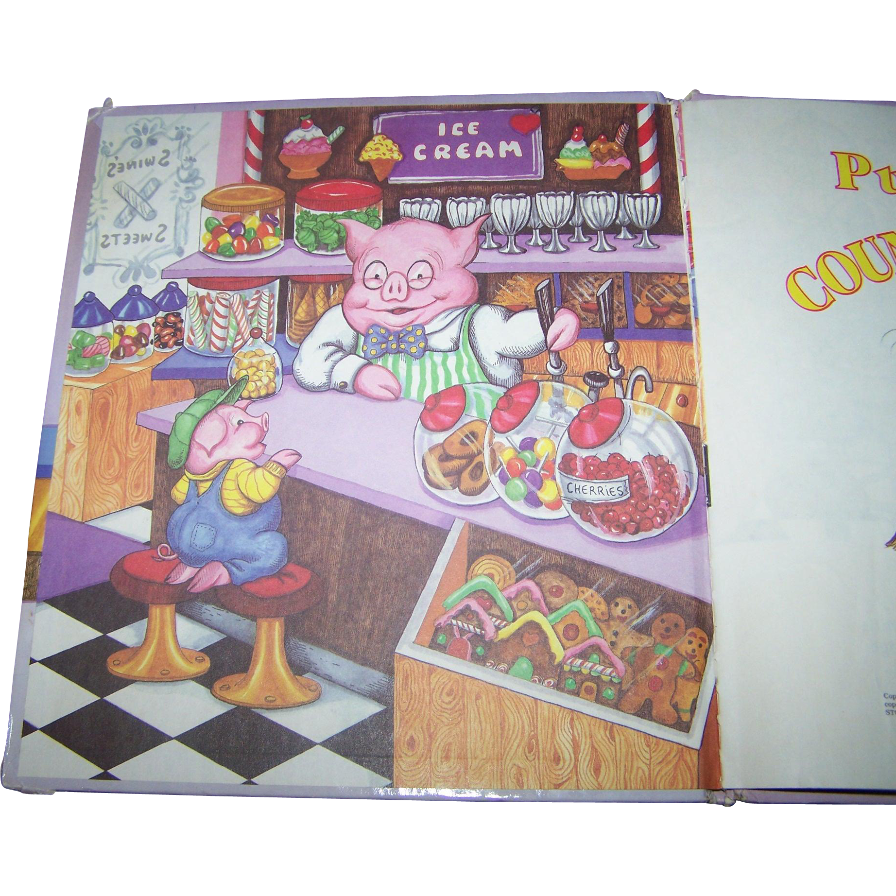 Pudge Pig's Counting Book By Amye Rosenberg