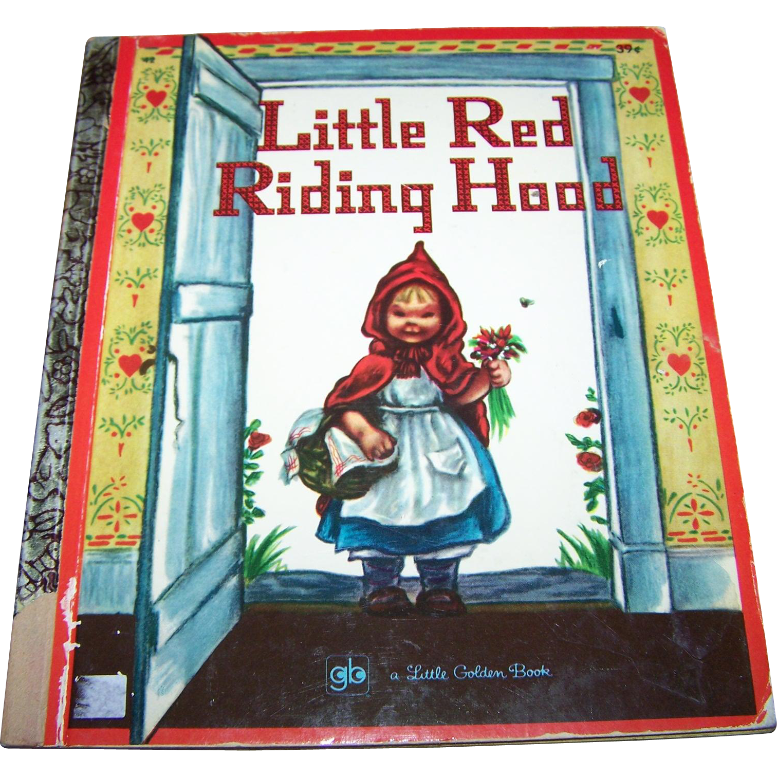 """Children's Book"""" Little Red Riding Hood """"  A Little Golden Book C. 1971"""