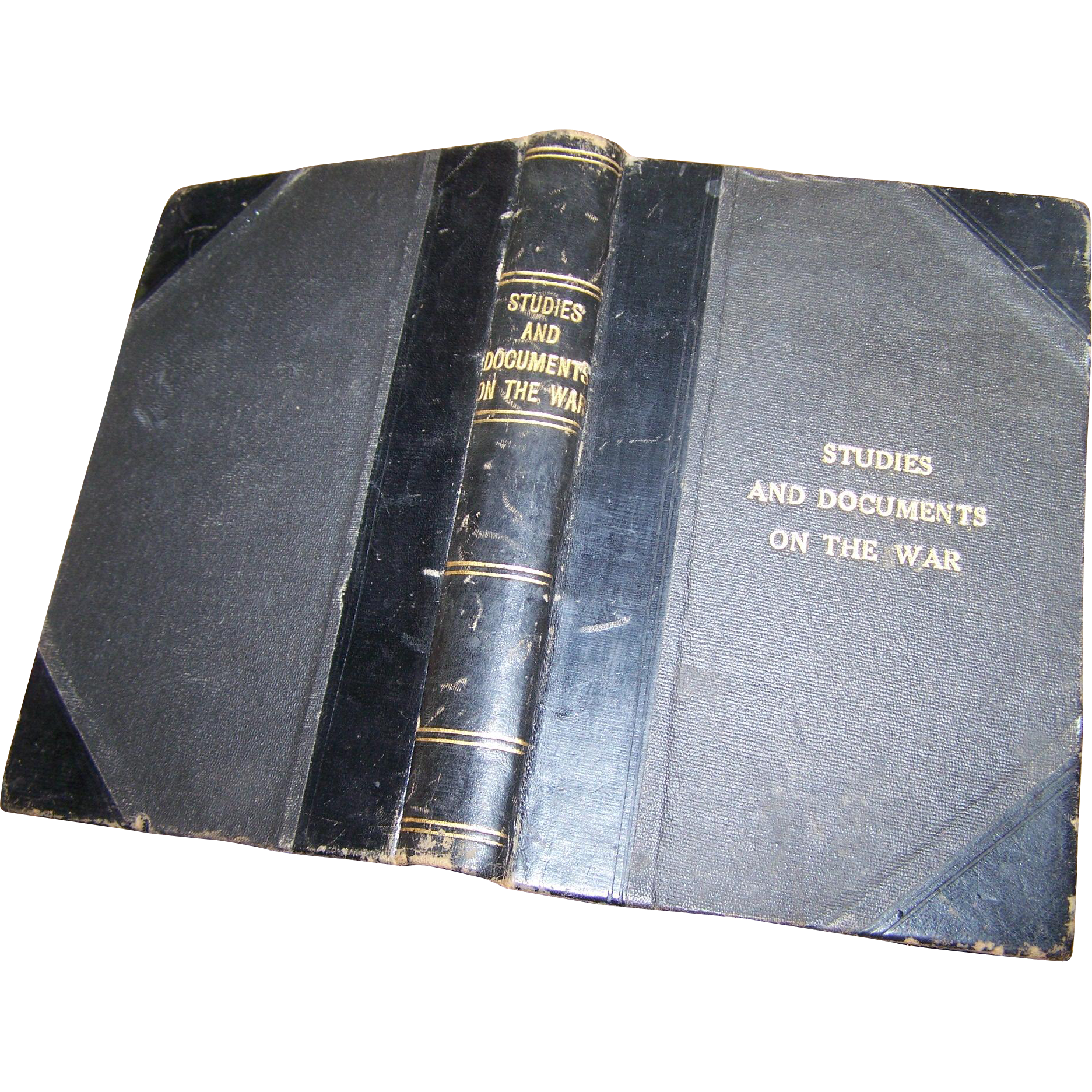 "Rare Hard Cover Book "" Studies and Documents on the War ""  1815-1915 by Ch. Seignobos 1915"