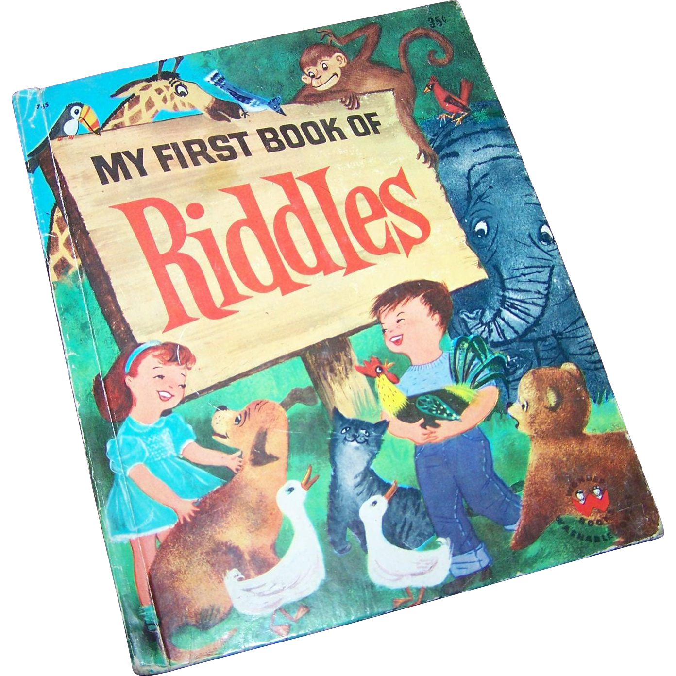 Children' s Book  My First Book of Riddles Wonder Books A Division of Grosset & Dunlap