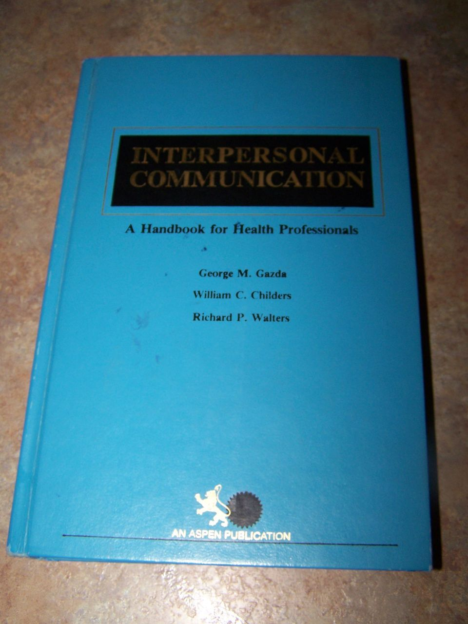 H,C, Book  Interpersonal Communication C. 1982
