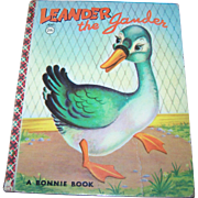 Children' s Book Leander the gander A Bonnie Book