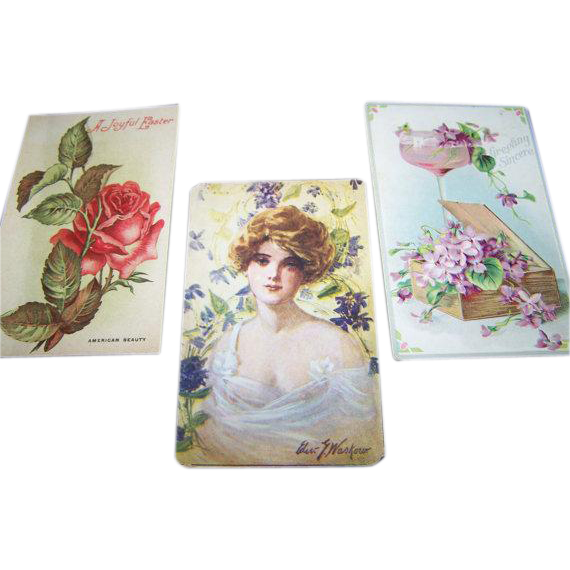 Instant Collection Vintage Postcards in PHOTOGRAPHS Book