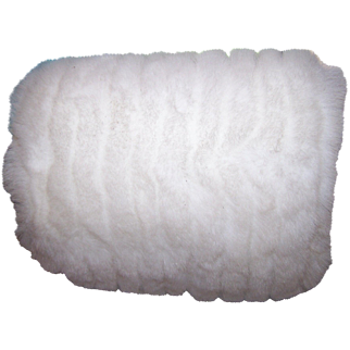 Oh So Pretty Vintage Stylish Simulated Faux Fur Plush Hand Muff