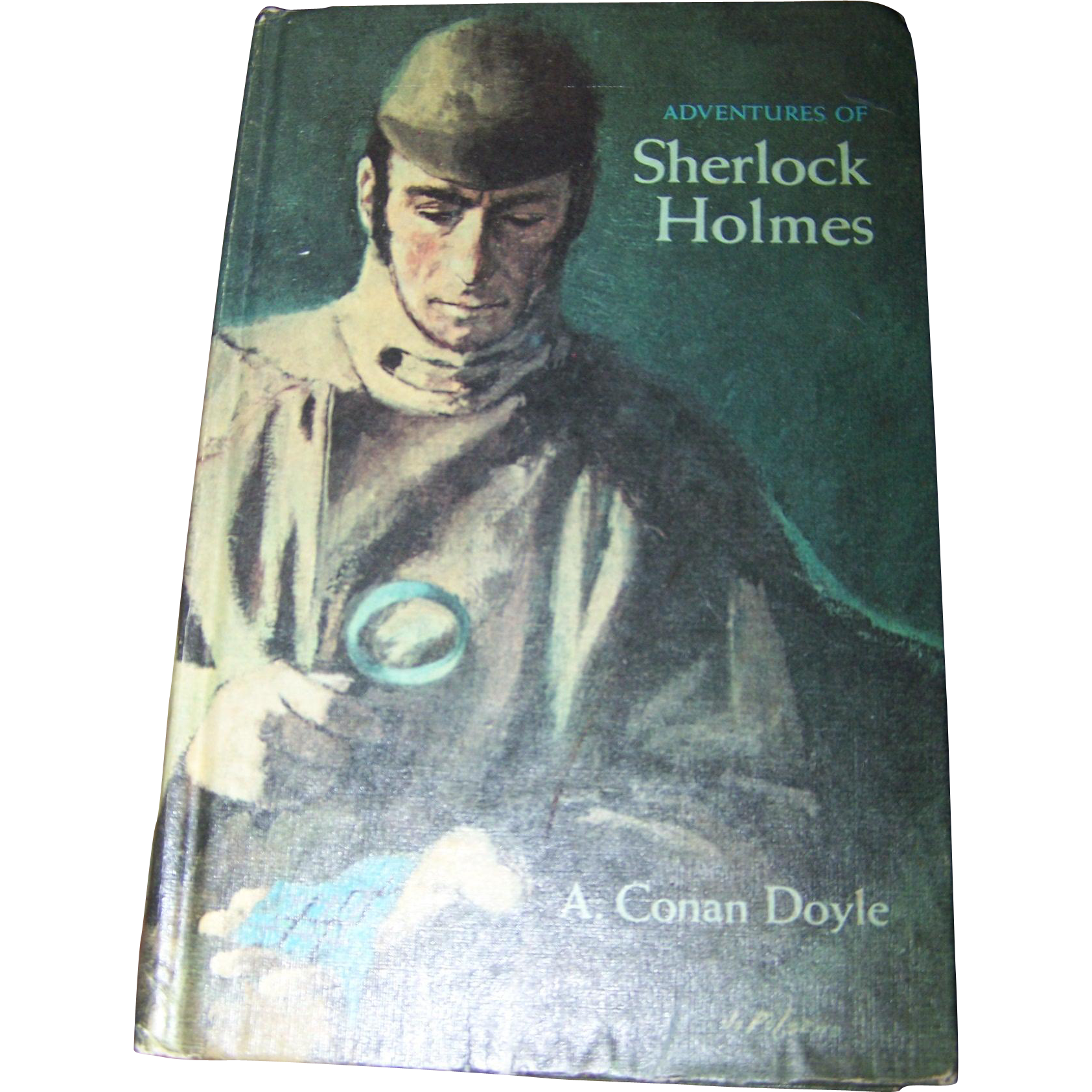 The Adventures of Sherlock Holmes A. Conan Doyle Hard Cover Book