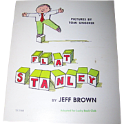 "Paper Back Children's Book "" Flat Stanley "" by Jeff Brown"