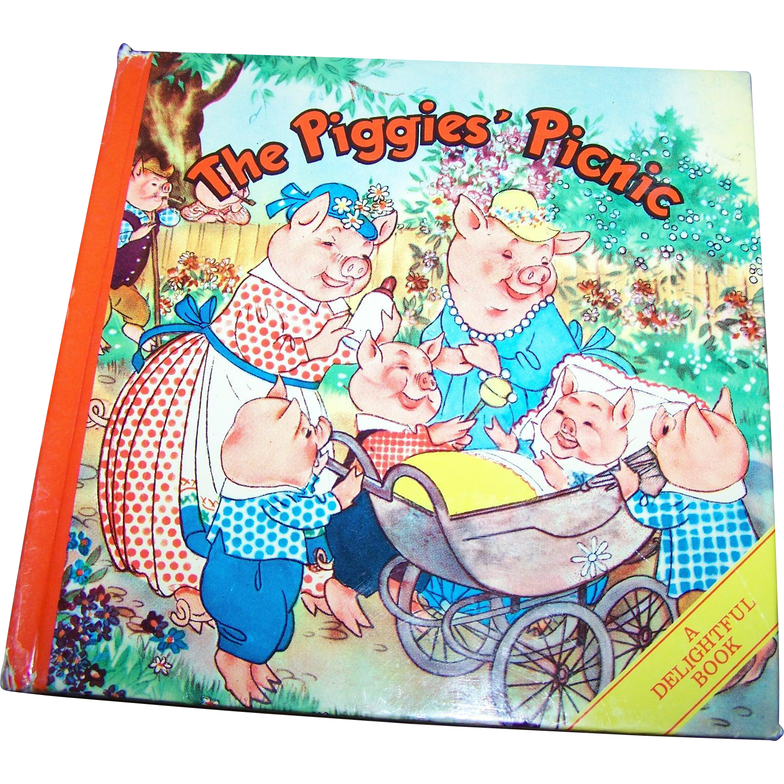 The Piggies Picnic A Delightful Children's Book  By Willy Schermele