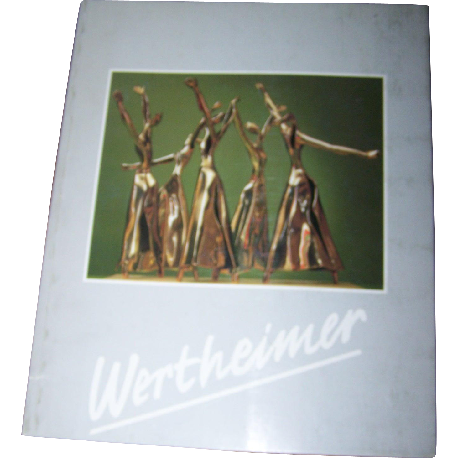 "Soft Cover Book "" Wertheimer ""  Esther Sculptures Art"