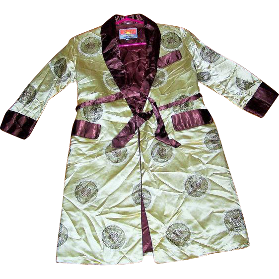 Children's House Coat Jacket Oriental Style Size 10
