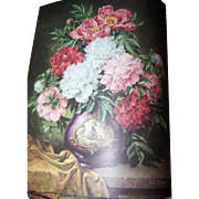 "Beautiful Vintage Book "" Friendship "" an ideals publication Floral Prints Pretty Enough to Frame"