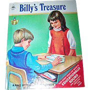 Billy's Treasures  by Dorthea J. Snow  Start Right Elf Book