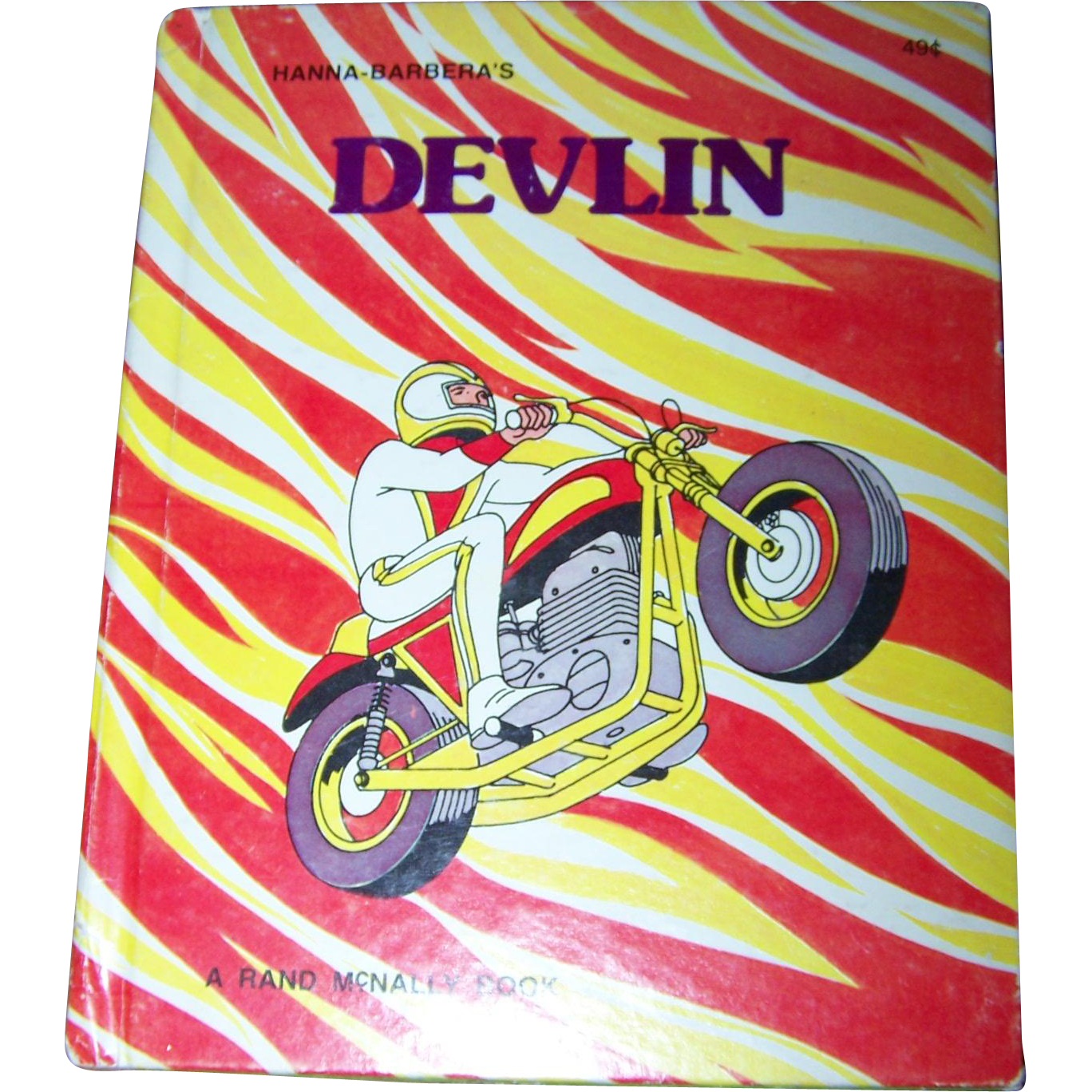 "Hanna - Barbera's Hard Cover Children's Book "" Devlin """