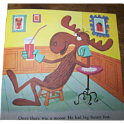 "A Little Golden Book "" Bullwinkle "" #462 By David Corwyn Golden Press"