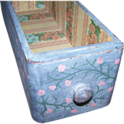 Wonderul Vintage Upcycled Shabby Chic Painted Sewing Drawer Storage Display