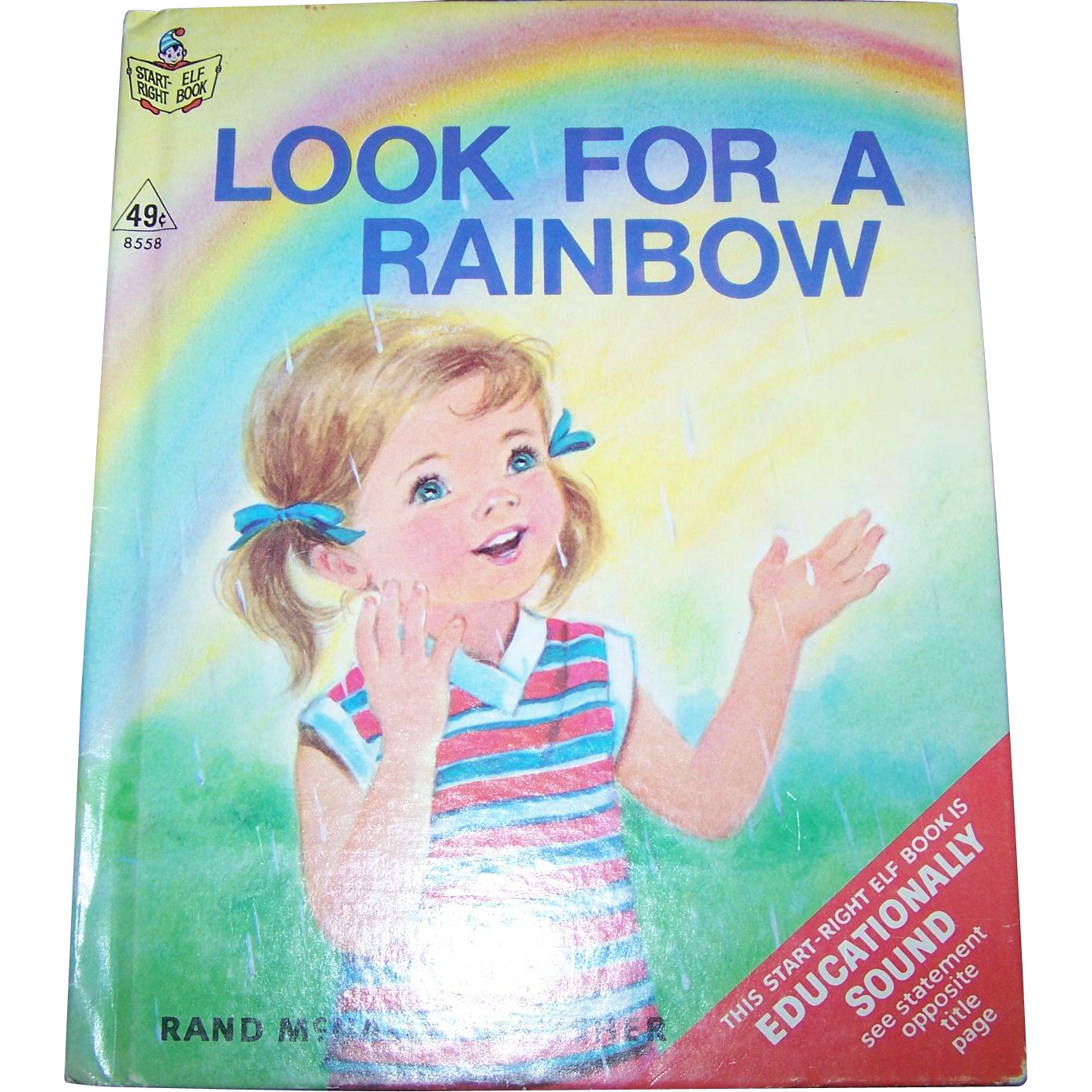 "Start Right Junior Elf Book "" Look For A Rainbow """