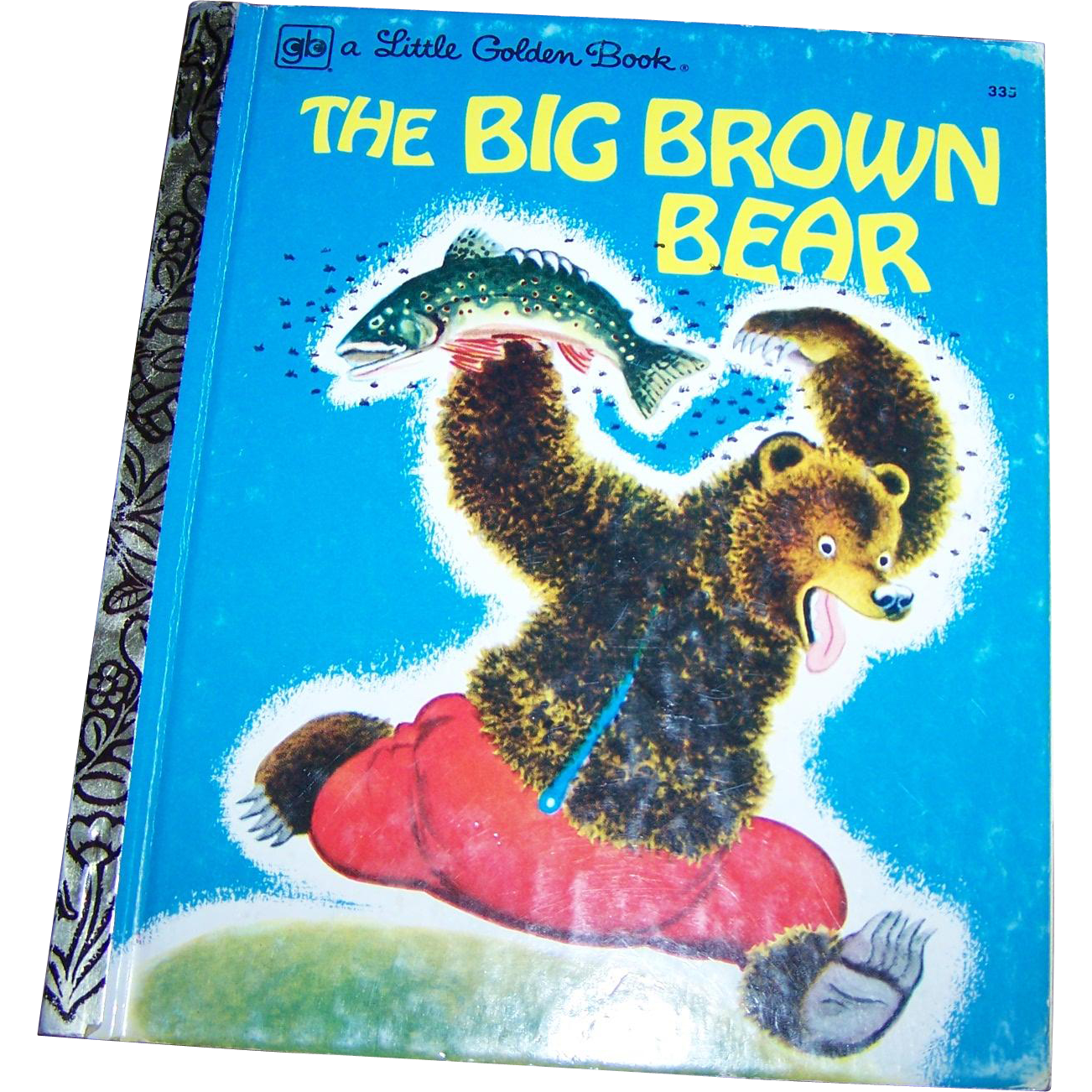 "A  Charming Little Golden Book "" The Big Brown Bear ""  by Georges Duplaix"