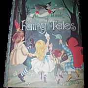 A Book of Fairy Tales 1977 Edition Dean & Sons LTD London England