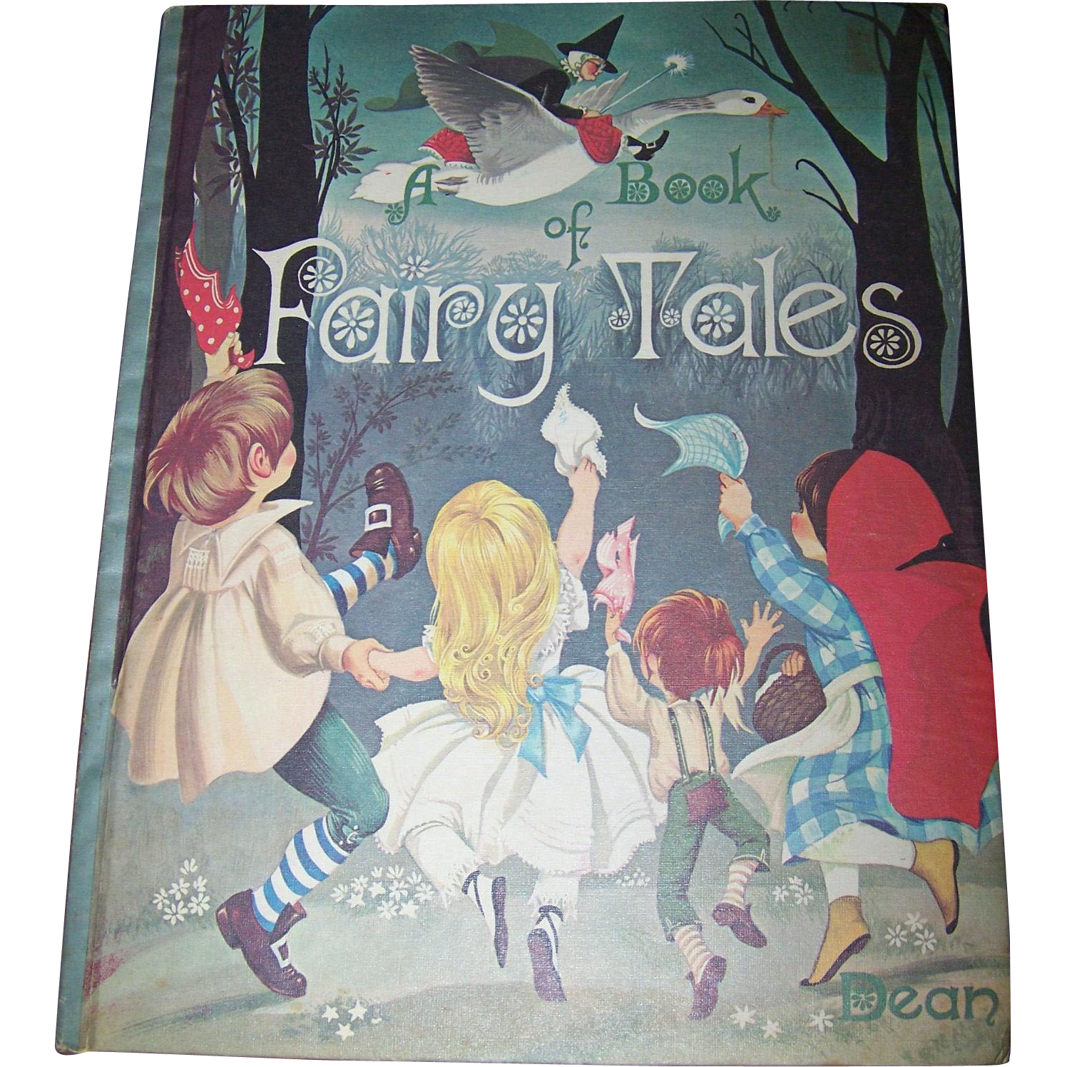 A Book of Fairy Tales 1977 Edition Dean & Sons LTD London England