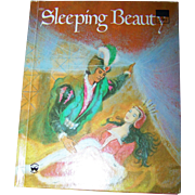 "A Wonderful Vintage Children's Book Wonder Books New York "" Sleeping Beauty ""  Printing 1976"