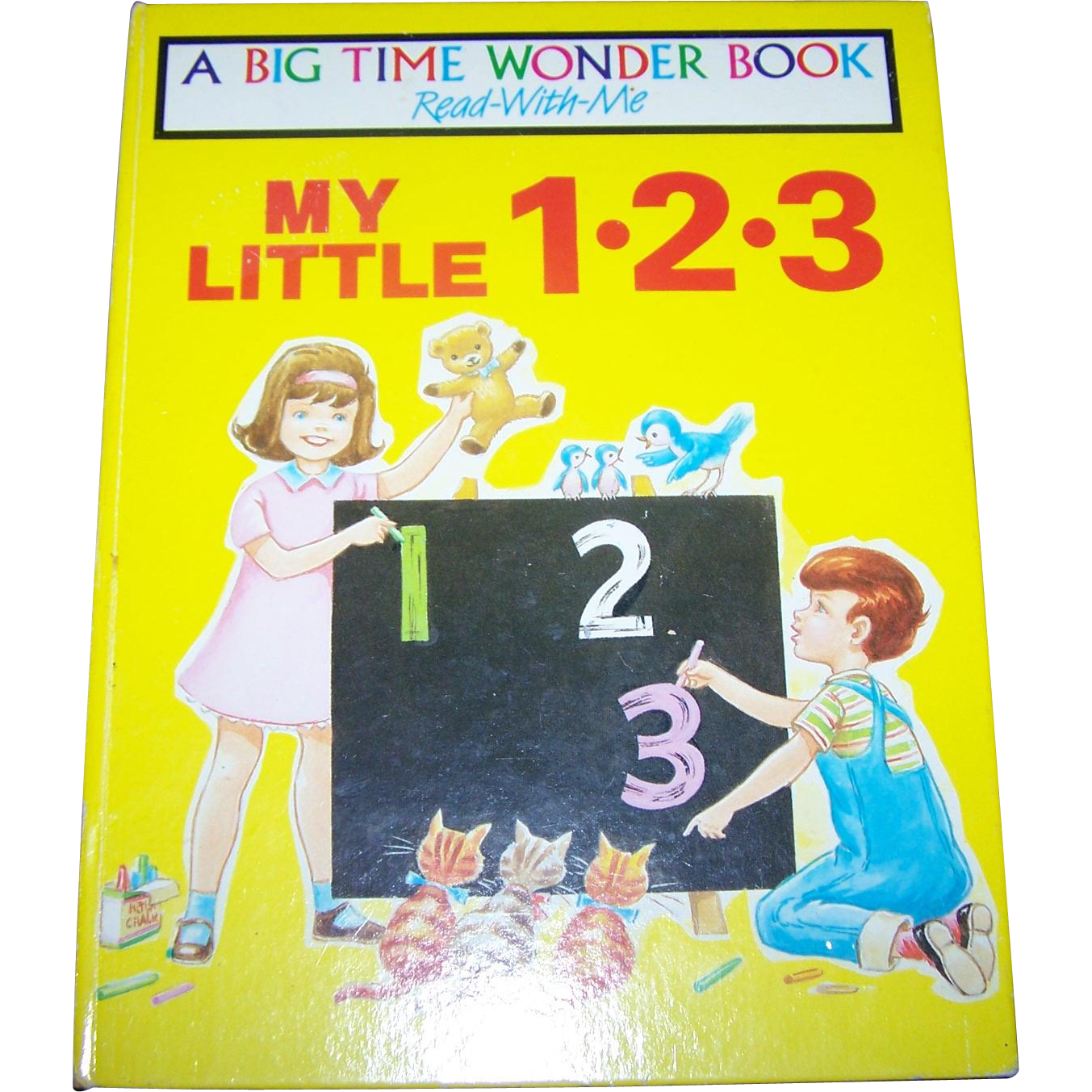 A Big Time Wonder Book Read With Me My Little 1-2-3