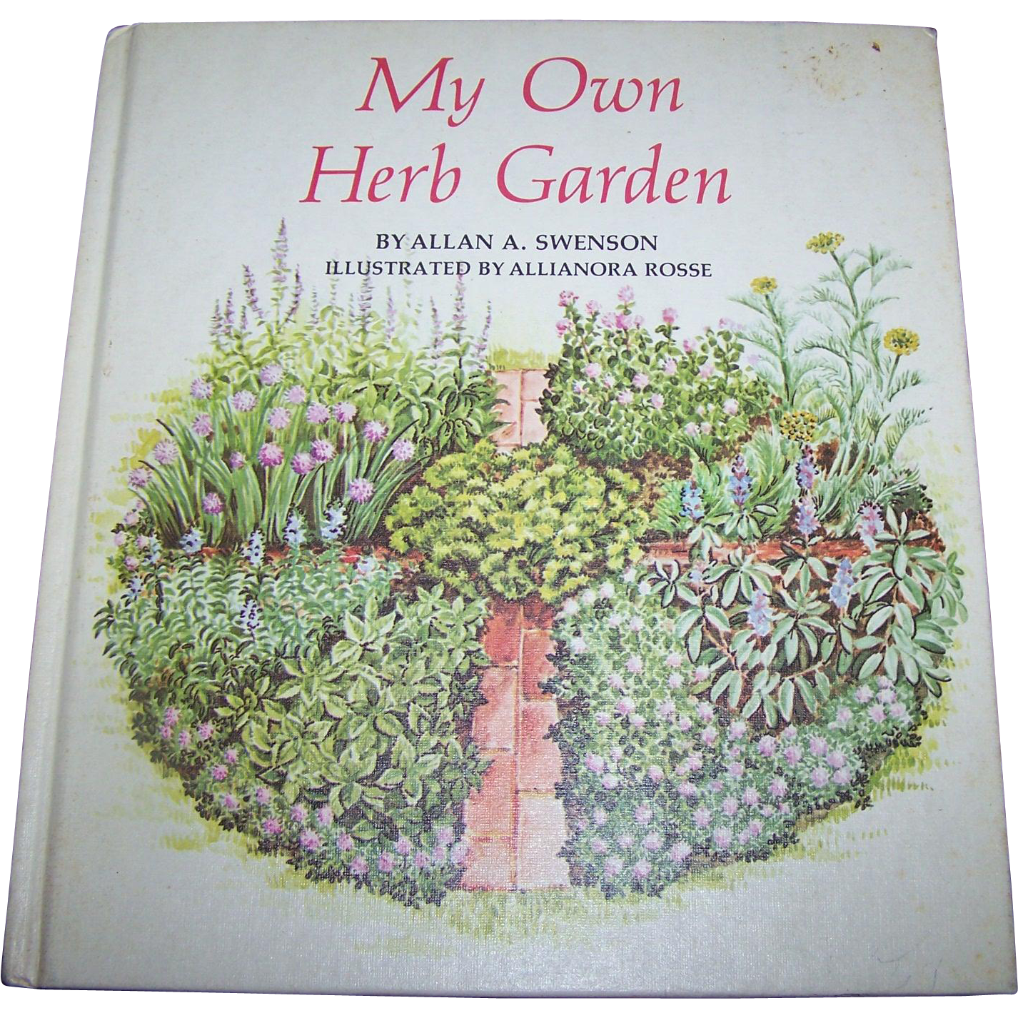 "Vintage Hard Cover Book "" My Own Herb Garden "" 1976 Rodale Press Inc"