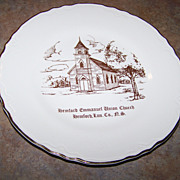 Historical Plate Hemford Emmanuel Union Church Lun Co. Nova Scotia