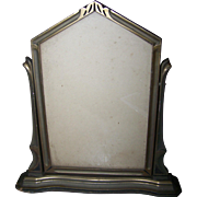 Vintage Art Deco  Era Swinging Wooden  Picture Frame