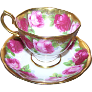 Royal Albert Old English Rose Mother's Day Tea Cup Saucer Set