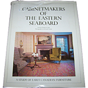 """Hard Cover Over Sized Book """" Cabinet Makers of the Eastern Seaboard """" Photographs by Richard Vroom & Letter By Charles H. Foss"""