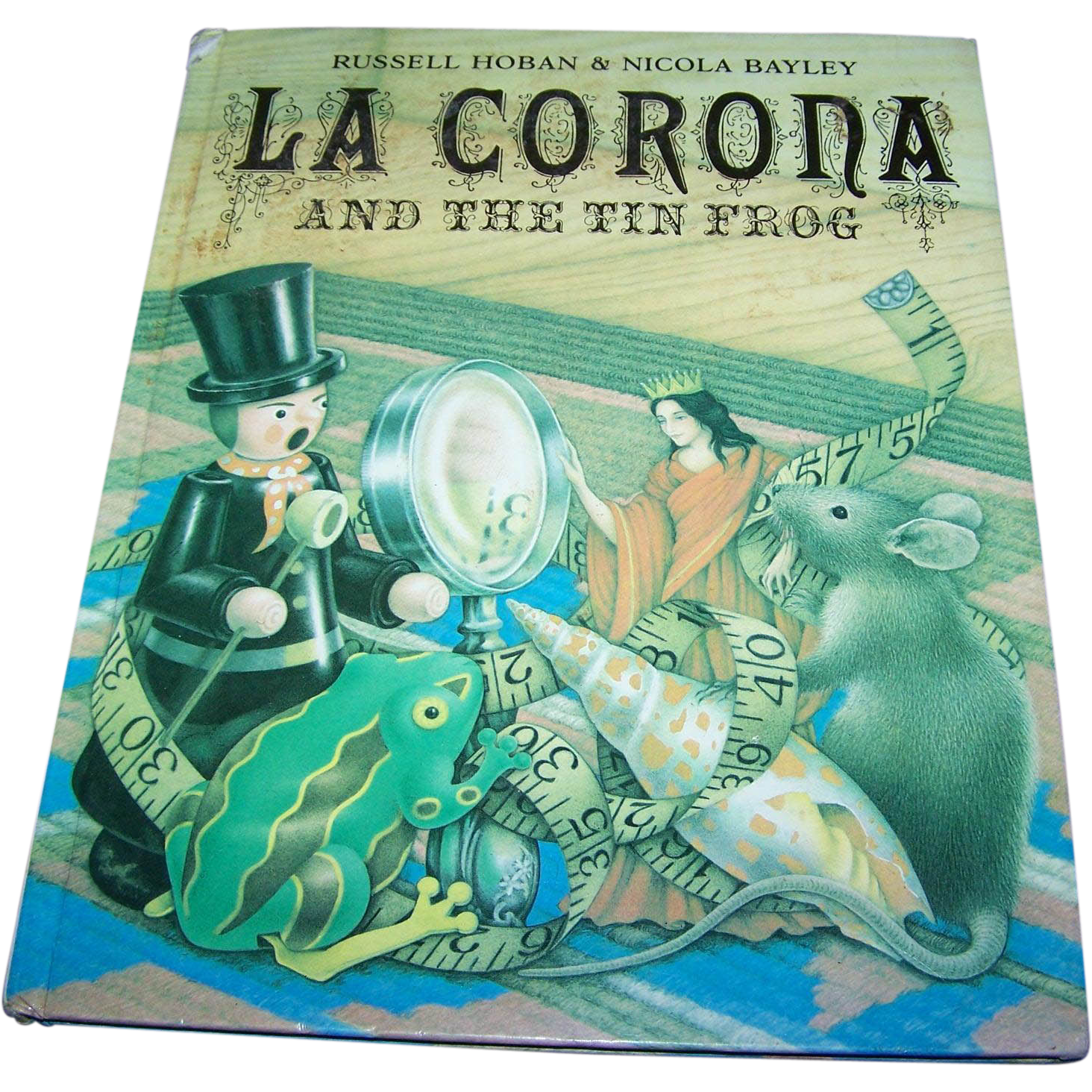 "Hard Cover Book  Children's Book "" La Corona And The Tin Frog """